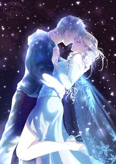 So You Can't Marry.. by Mallemagic on deviantART / Rise of the Guardians' Jack Frost and Frozen's Elsa