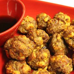 Sausage and French Toast Meatballs.