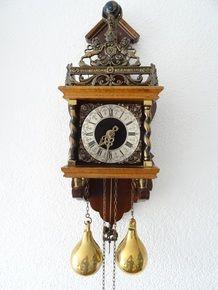 Vintage Dutch Zaandam Zaanse Wall Clock Wall Clocks