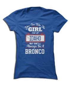 Boise State Broncos Official Apparel - this licensed gear is the perfect clothing for fans. Makes a fun gift!