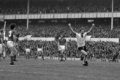 Hoddle scores against Palace at The Lane 1977.