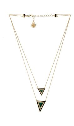 TEEPEE TRIANGLE NECKLACE