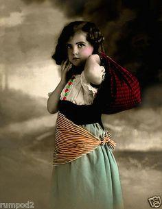 Vintage Gypsy Child