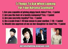 Watch Kdrama Speed Dating: Finding the Perfect Male Lead #kdramafighting #kdramahumor