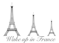 loved waking up and knowing I was in Paris.