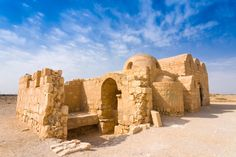 Just east of Amman, the historic site of Quseir Amra was built as a royal desert oasis.