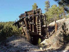 Tin Mountain pegmatite, near Custer, SD