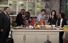 WC #TheTalk's ON!Don't miss @MrJackO & @chefludo's French cooking that leads 2 this w/ @ArsenioHall @sherylunderwood!