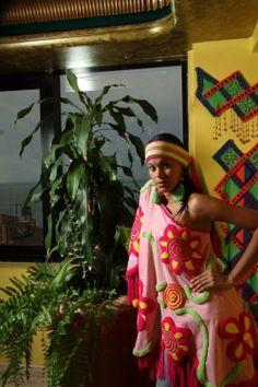 Una moderna manta Wayuu donde se combina lo milenario con lo actual