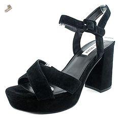 Steve Madden Tempesst Women US 11 Black Platform Sandal - Steve madden pumps for women (*Amazon Partner-Link)