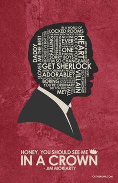 Sherlock (2010–) ~ TV Series Quote Poster by Stephen Poon  amusementphile  Benedict bb3009c973883