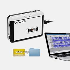 Portable USB Cassette to Digital MP3 Player