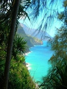 Visit Hawaii and go exploring (: Make sure to take a helicopter flight with us when you are in Hawaii! www.bluehawaiian.com