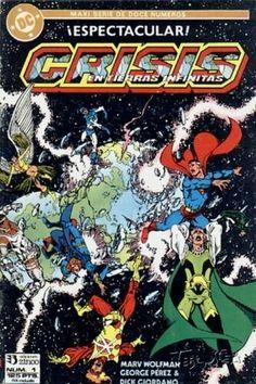 CRISIS EN TIERRAS INFINITAS (1987, ZINCO) #1