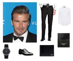"""Beckham style / classy"" by graca95 ❤ liked on Polyvore featuring Larsson & Jennings, Paul Smith, Tom Ford, Dolce&Gabbana, men's fashion and menswear"