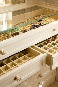 New Ideas Jewerly Organizer Drawer Diy Master Closet Master Closet, Walk In Closet, Closet Space, Master Suite, Glam Closet, Master Bedroom, Modern Closet, Diy Casa, Ideas Para Organizar
