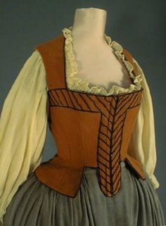 17th century maid clothes 1640 - Google Search
