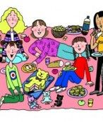 pic from sleepovers by jacqueline wilson