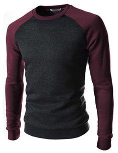 Camiseta baseball de cuello redondo