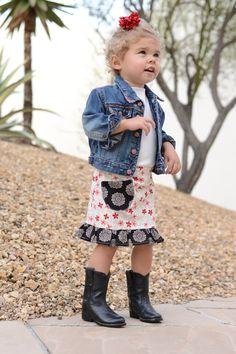Treasure Skirt Size 2 by uptomykneesincrafts on Etsy