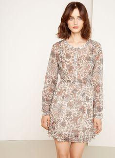 Kleid mit Blumenmuster. RILEY