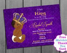 African American Baby Shower Invitation by CuddleBugInvitations