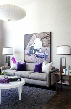 ▷ 1001 + Ideen zum Thema: Welche Farbe passt zu grau? | Wohnzimmer ...