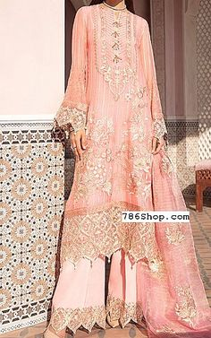 Pakistani Dresses, Designer Dresses, Chiffon, Suit, Tea, Clothing, Pink, Fashion, Silk Fabric