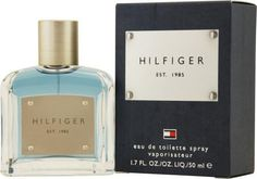 Hilfiger by Tommy Hilfiger for Men. Eau De Toilette Spray 3.4-Ounces by Tommy Hilfiger. $40.00. Packaging for this product may vary from that shown in the image above. This item is not for sale in Catalina Island. When applying any fragrance please consider that there are several factors which can affect the natural smell of your skin and, in turn, the way a scent smells on you.  For instance, your mood, stress level, age, body chemistry, diet, and current medications ...