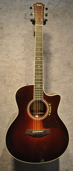 Taylor 2012 716CE Acoustic / Electric Guitar in Sunburst with Case - $2,799