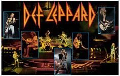 Def Leppard Live Hysteria Music Poster 11x17