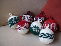 Ravelry: Weihnachtskugel-Muster pattern by Andrea Pietsch