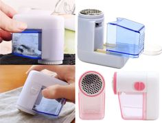 New Portable Electric Fuzz Pill Lint Fabric Remover Sweater Clothes Shaver GRAU in Other | eBay