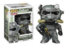 Brotherhood of Steel, from the popular open world role-playing video game, Fallout, has been given the POP treatment! Figure stands 3 3/4 inches and comes in a window display box.