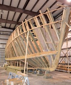 Chadwick Boat Works is assembling what might be the last wooden shrimp trawler built in eastern North Carolina. With the present economy, seafood importation, taxes and regulations, and a reduction in the local commercial fishing industry, there may not be a need for another trawler.