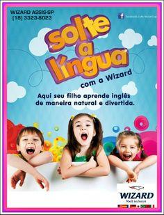 Curso de idiomas para crianças a partir dos 4 anos de idade. TOTS - LITTLE KIDS - KIDS - TEENS