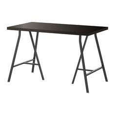 LINNMON / LERBERG Mesa IKEA Orificios pretaladrados para las patas. Montaje fácil.