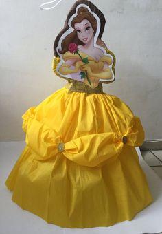 la bella princesa piñata. Fiesta de la bella por aldimyshop en Etsy