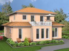 Venezia - #Einfamilienhaus von HOGAF Hausbau GmbH   HausXXL #Stadtvilla #mediterran #Walmdach