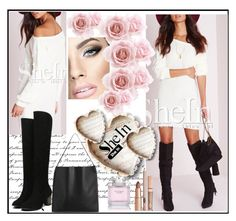"""""""4545"""" by ena-ena ❤ liked on Polyvore featuring Victoria's Secret and Sheinside"""