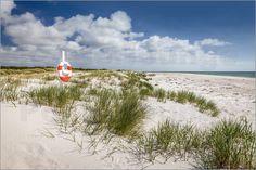 Christian Müringer - Weißer Strand auf Bornholm (Dänemark)