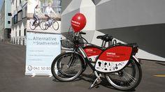 Switzerland - Luzern - nextbike (280 bikes)