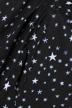 Diane von Furstenberg - Printed Halterneck Swimsuit - Black - x small