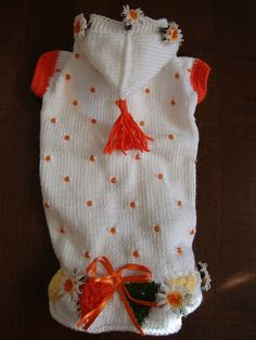 MADE TO MEASURE Beaded  Luxury  Dog or Pet sweater   by fifime, $32.00