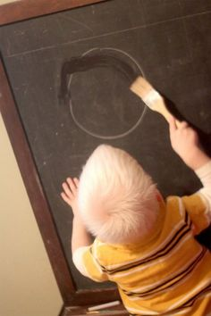 Tracing Letters & Shapes on the Chalkboard