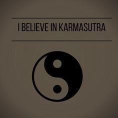 """kaRmasutra"" #G*B Giulia Bergonzoni #graphic #yin #yan #karma #humor #kamasutra #karmasutra #believe"