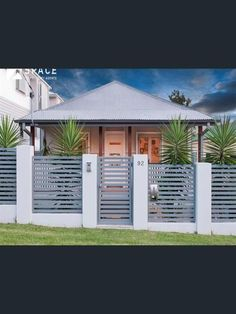 Contemporary Front Fence Design Ideas Garden Pinterest Front