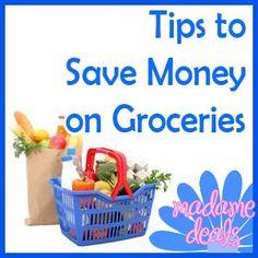 Save Money Groceries