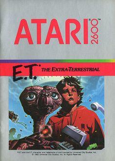 Atari - E.T. The Extra-Terrestrial by Joe Kral, via Flickr