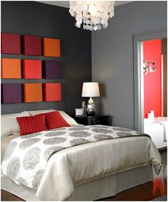 cama-de-casal-cabeceira-de-telas-coloridas